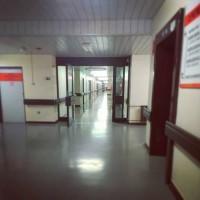 A hospital surgery facility